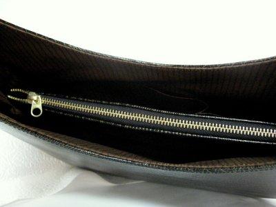 画像2: ヘビ革 ハンドバッグ