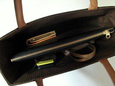 画像3: ヘビ革 ハンドバッグ